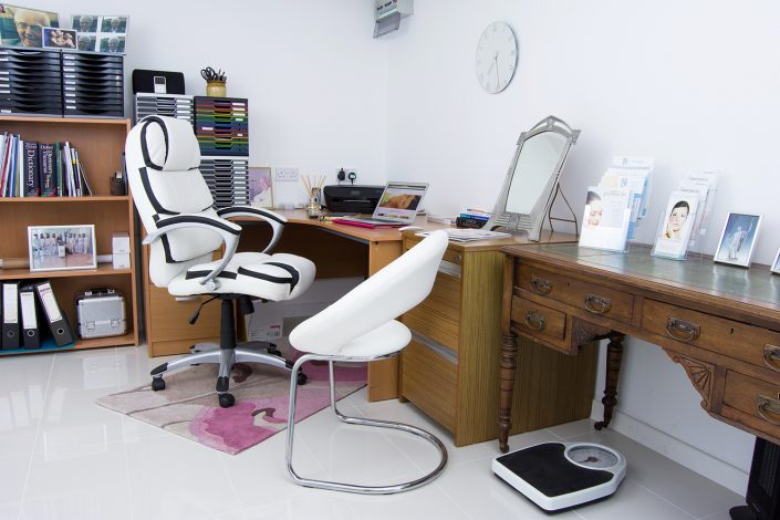 Photo of chaelis advanced aesthetics consultation room
